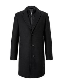 wool coat with insert