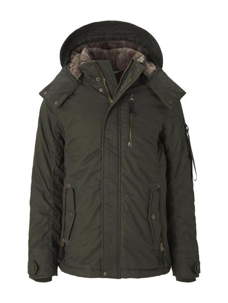 jacket with insert, Shadow Olive
