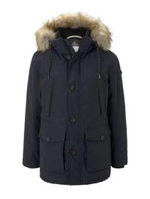 padded winterjacket with hood