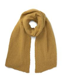 cosy knit scarf, Indian Spice Yellow