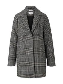 easy plaid coat
