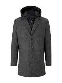 coat with padded insert