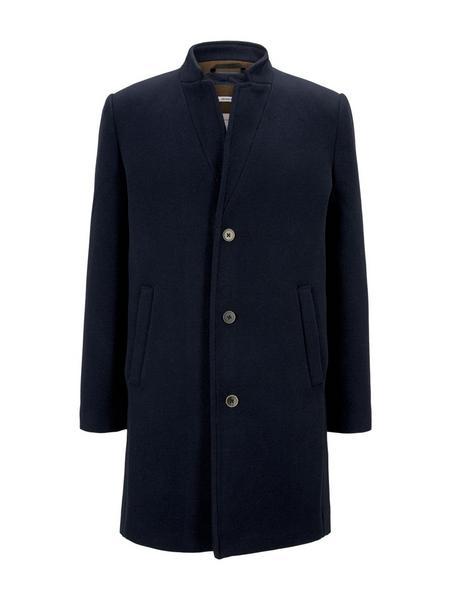 modern woolblendcoat, Sky Captain Blue