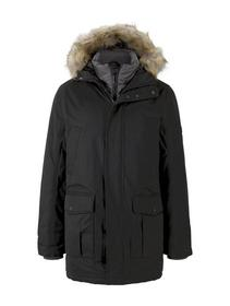 parka with padded insert