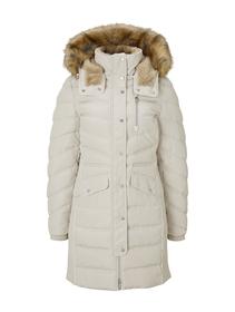 signature puffer coat