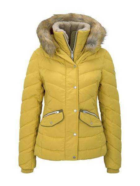 signature puffer jacket - 24270/california sand ye