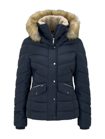 signature puffer jacket