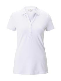 Poloshirt rib collar