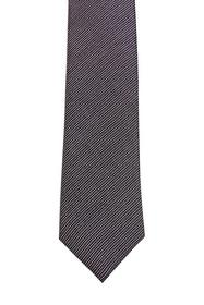 100% Seide: Krawatte mit Struktur