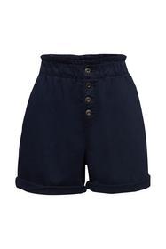 Web-Shorts mit Leinen und Bio-Baumwolle