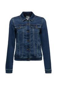 Jeans-Jacke aus softem Jogger-Denim