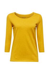 Baumwoll-Shirt, 3/4-Ärmel