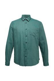 Gebrushtes Fischgrät-Hemd, 100% Bio-Baumwolle
