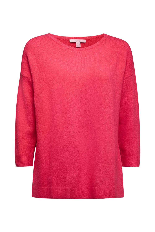 Strick-Pullover mit Wolle