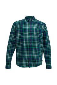 Kariertes Flanell-Hemd aus Bio-Baumwolle