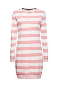 Nachthemd mit Streifen, 100% Bio-Baumwolle