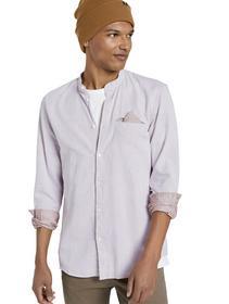 small patterned jacquard shirt - 24328/orange mini