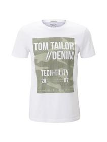 T-shirt with print - 20000/White