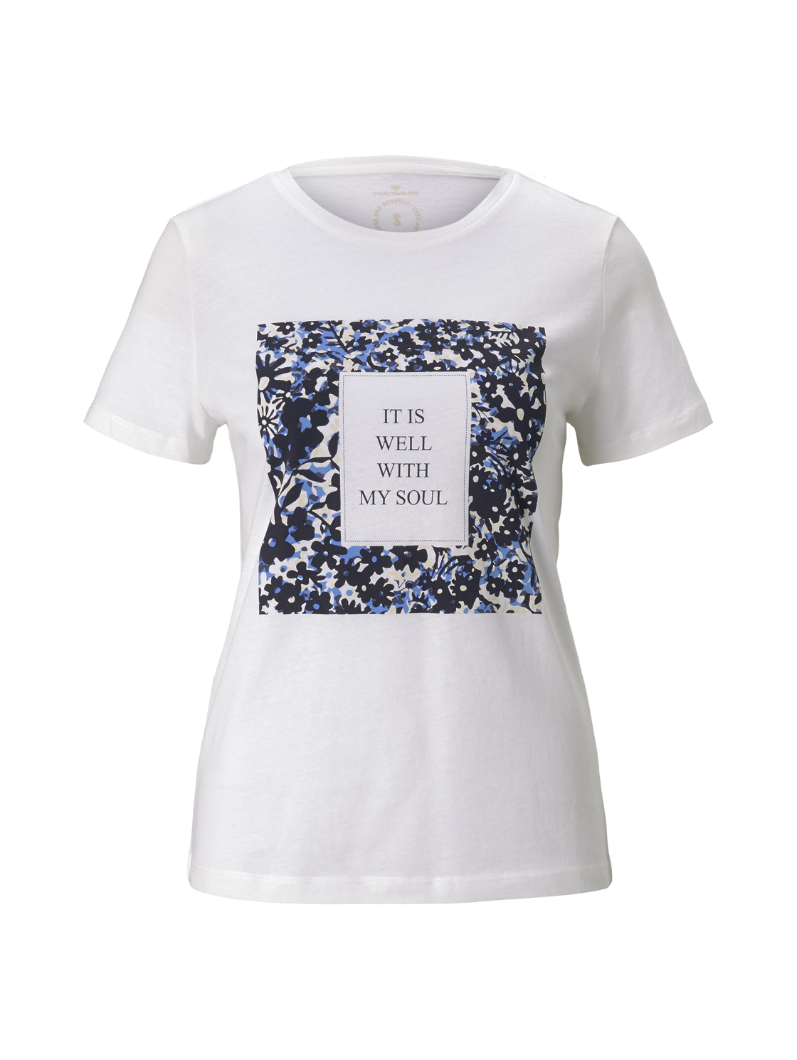 T-shirt crew neck print