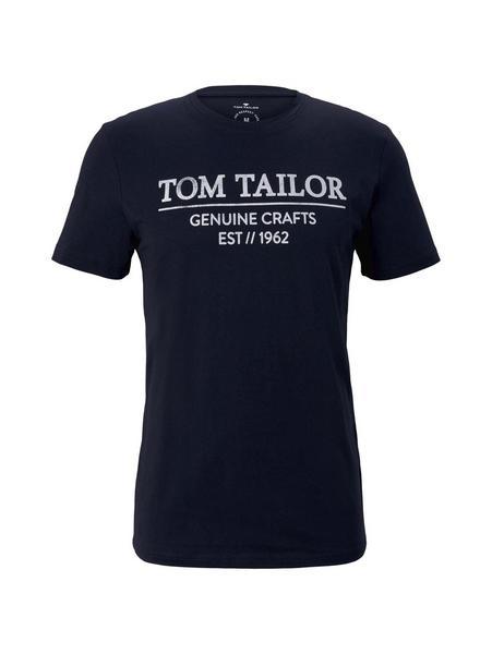 T-shirt with print - 10668/Sky Captain Blue