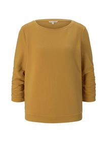 structured sweat, Indian Spice Yellow