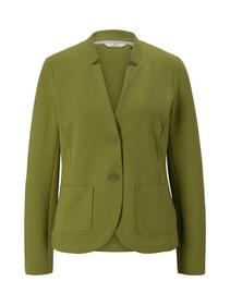 colored ottoman blazer, wood green