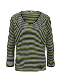 T-shirt structure stripe