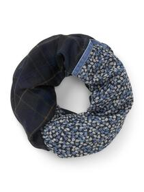 scarf loop with tape