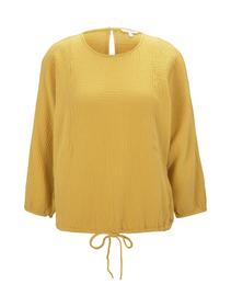structured batwing blouse, Indian Spice Yellow