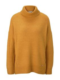 slouchy turtle neck pullover