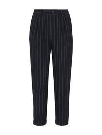 Tapered pinstripe pants - 25301/navy pinstripe