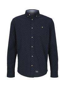 regular cosy shirt with print