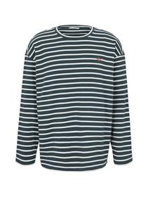 boxy striped longsleeve Tee