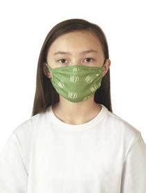face mask kids - 22517/olive green
