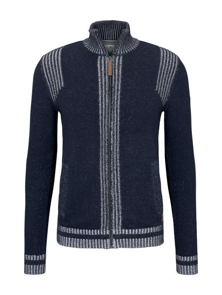 plated jackets, Knitted Navy