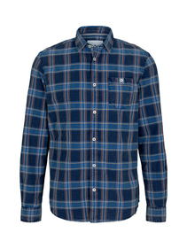 regular oxford indigo shirt
