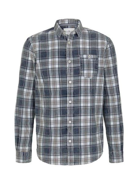 regular oxford indigo shirt