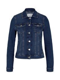 easy denim jacket, Used Mid Stone Blue Denim