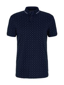 alloverprinted polo