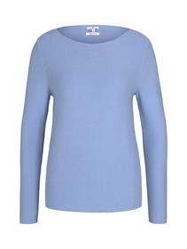 structured cotton pullover