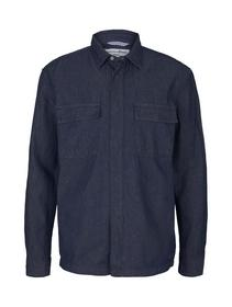 less water use denim shirt