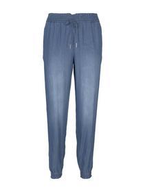 lyocell indigo harems pants, Used Light Stone Blue Denim