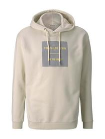 hoody with chest print