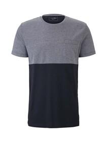 cutline T-shirt w. structure