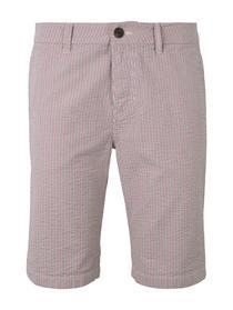chino shorts seersucker - 26370/navy red white str
