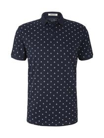 polo with all over print
