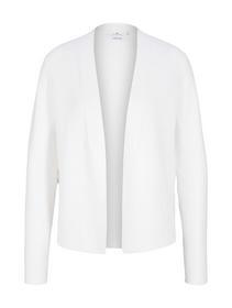 structured cotton cardigan
