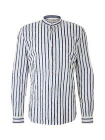 striped shirt with roll up