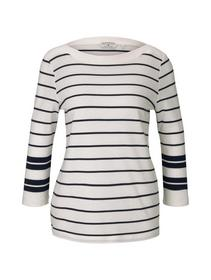 T-shirt placed stripe