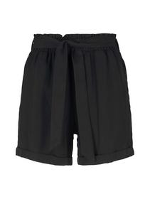 Soft relaxed shorts, deep black